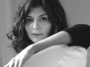 A seductive look from French actress Audrey Tautou